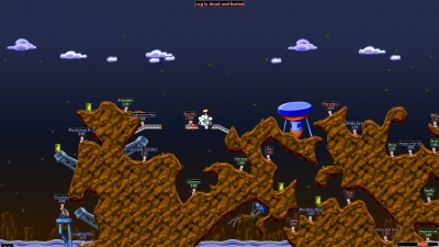Screen ze hry Worms World Party Remastered