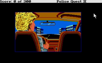 Screen ze hry Police Quest 2: The Vengeance