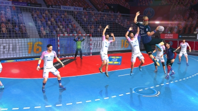 Screen ze hry Handball 16