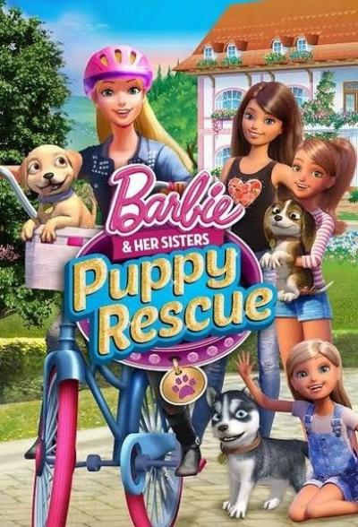 Artwork ke hře Barbie & Her Sisters: Puppy Rescue