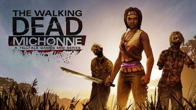 Artwork ke hře The Walking Dead: Michonne