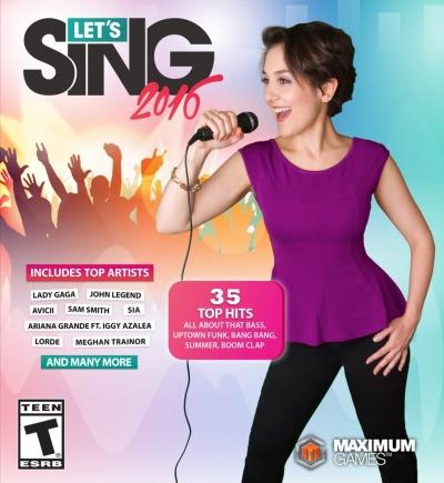 Artwork ke hře Let´s Sing 2016