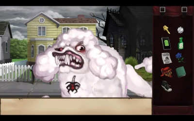 Screen ze hry Goosebumps: The Game