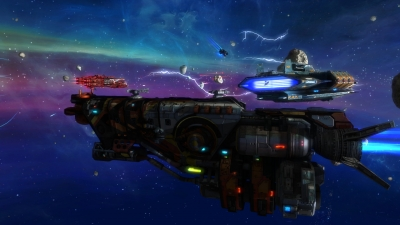 Screen ze hry Rebel Galaxy