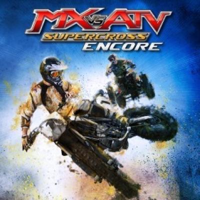 Artwork ke hře MX vs. ATV Supercross Encore