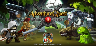 Artwork ke hře AdventureQuest: Battle Gems