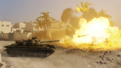 Screen ze hry Armored Warfare