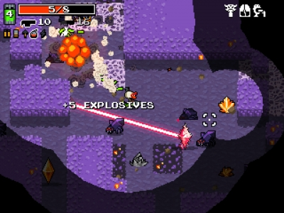 Screen ze hry Nuclear Throne