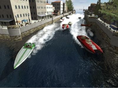 Screen ze hry Powerboat GT