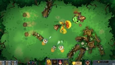 Screen ze hry Flamebreak