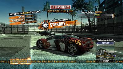 Screen ze hry Burnout Paradise