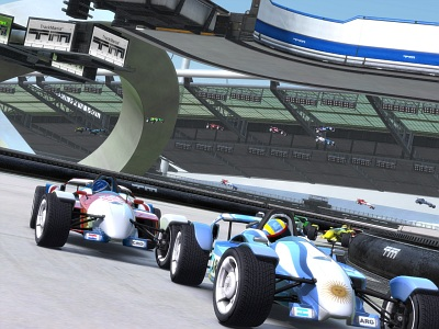 Screen Trackmania Nations Forever