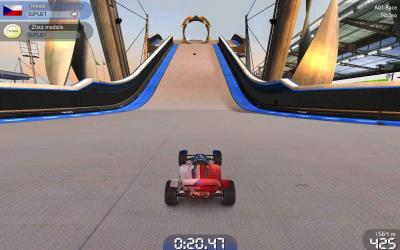 Screen ze hry Trackmania Nations Forever