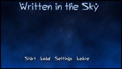 Screen ze hry Written in the Sky
