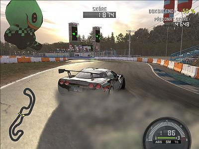Screen ze hry Need for Speed ProStreet