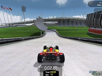 Screen ze hry TrackMania Nations: Electronic Sports World Cup Edition