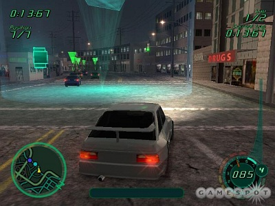 Screen Midnight Club II