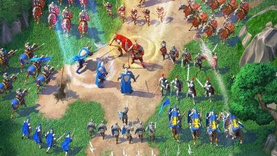 Screen ze hry March of Empires