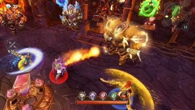 Screen ze hry Dungeon Hunter 5
