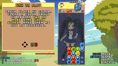Screen ze hry Raining Blobs