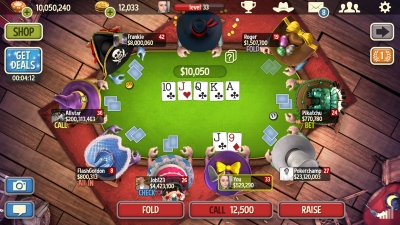 Screen ze hry Governor of Poker 3