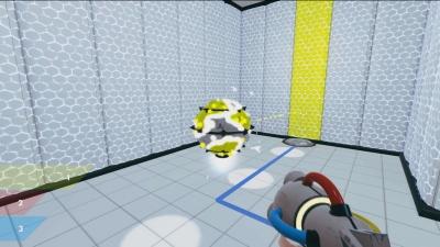 Screen ze hry ChromaGun