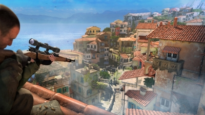 Screen ze hry Sniper Elite 4