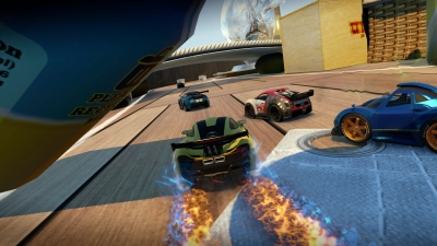 Screen ze hry Table Top Racing World Tour