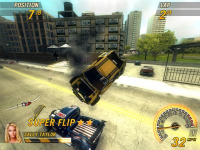 Screen ze hry FlatOut 2