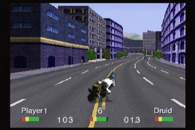 Screen ze hry Road Rash