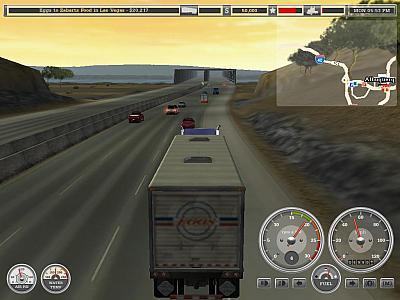Screen ze hry Hard Trucks: 18 Wheels of Steel