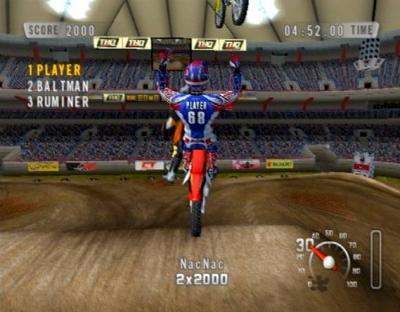 Screen ze hry MX vs. ATV Unleashed