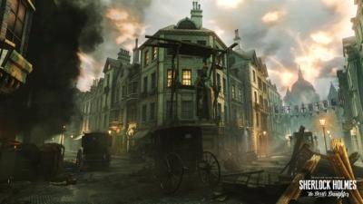 Artwork ke hře Sherlock Holmes: The Devils Daughter