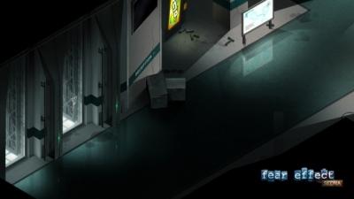 Artwork ke hře Fear Effect: Sedna