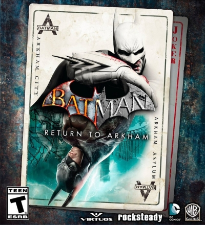 Artwork ke hře Batman: Return to Arkham