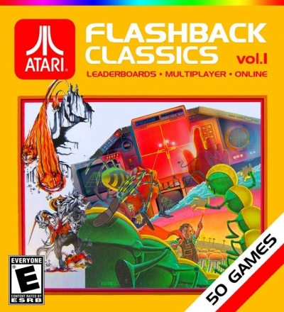 Artwork ke hře Atari Flashback Classics vol. 1