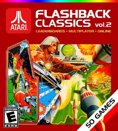 Artwork ke hře Atari Flashback Classics vol. 2