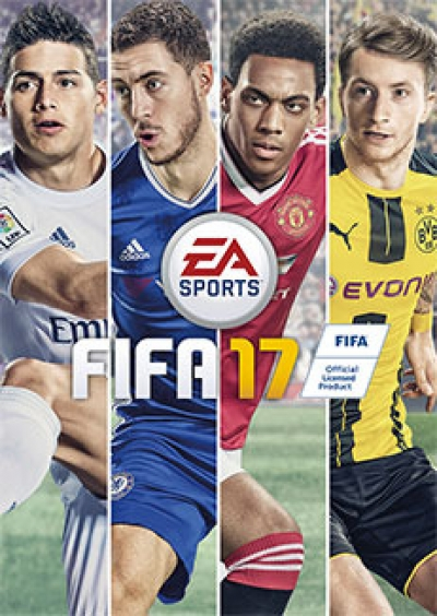 Artwork ke hře FIFA 17