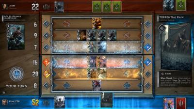 Artwork ke hře Gwent: The Witcher Card Game
