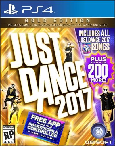 Artwork ke hře Just Dance 2017