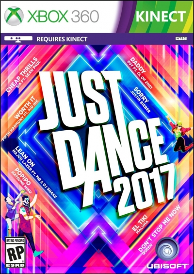 Artwork ke hře Just Dance 2017