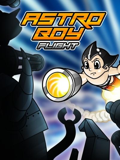 Artwork ke hře Astro Boy Flight!