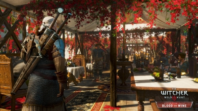 Screen ze hry The Witcher 3: Wild Hunt - Blood and Wine
