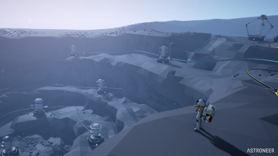 Screen ze hry Astroneer
