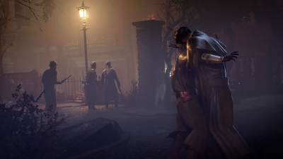 Screen ze hry Vampyr