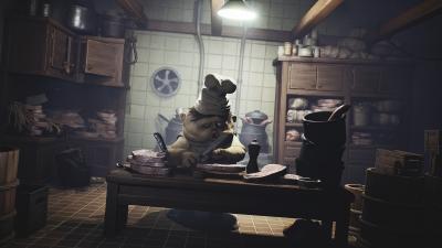 Screen ze hry Little Nightmares