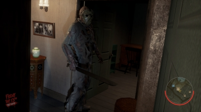 Screen ze hry Friday the 13th: The Game