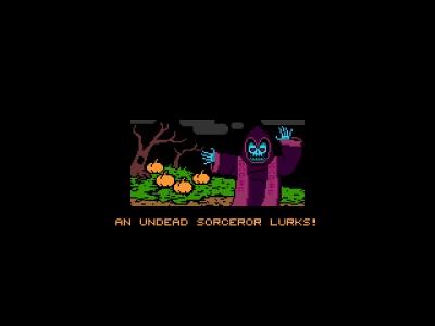 Screen ze hry Halloween Forever