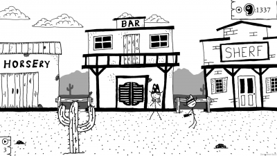 Artwork ke hře West of Loathing