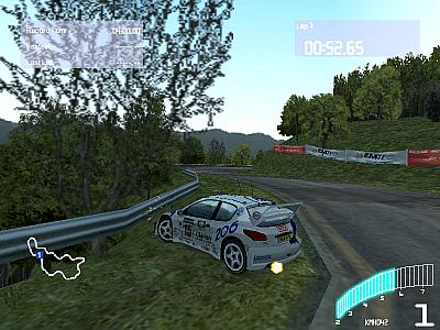 Screen ze hry Colin McRae Rally 2.0